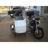 Sidecar Baú Fibra (motocarga)