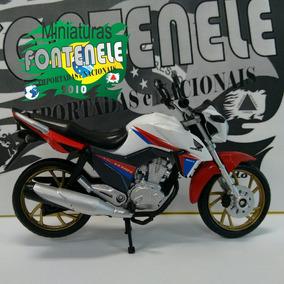 Honda Cg Titan 160 Edição 40 Anos De Cg No Brasil 1:18