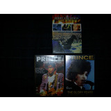 Prince & Jerry Lee Lewis - Lote 3 Dvd´s