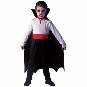 Disfraz Infantil Vampiro Para Halloween Terror Fiesta