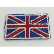 Patch Bordado Termocolonte Bandeira Inglaterra 3,5x2cm - 119