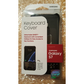 Keyboard Cover Galaxy S7 Original (sellado) Qwerty