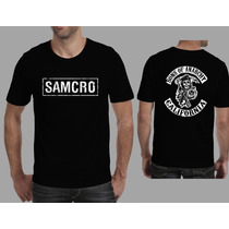 Camisa Sons Of Anarchy Seriado Samcro, Harley Davidson M-1