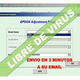 Reset Epson L375 Corrector Error Almohadillas