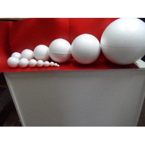 Esferas De Telgopor Pack N°4 N°5 N°6 N°7
