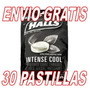 30 Pastillas Halls Negras Intense Cool Black Nivel 5 Extra