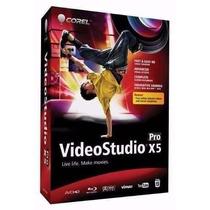 Corel Video Studio Pro X5 - Editor De Videos Original
