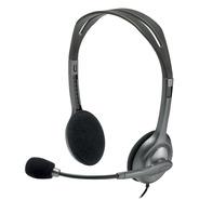 Diadema Estéreo Logitech H111 Micrófono Con Supresión Ruidos