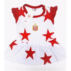 Vestido Estudiantes Beba Body Ajuar Camiseta Bebe Boca River