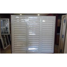 Postigon De Aluminio Blanco 150 X 150