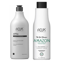 Felps Amazon Liss Express Sem Formol Liso Natural 2x1000ml