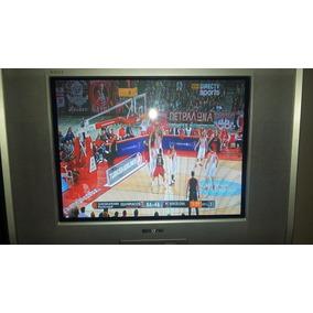 Televisor Sony Trinitron De 21 . Tv Con Control.