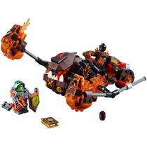 Lego - Nexo Knights 70313-triturador De Lava De Moltor
