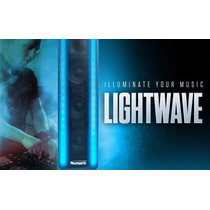 Bocina Numark Lightwave Tres Parlantes Y Efectos De Luz