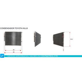 Condensador Toyota Hilux / Srv / Sr 2003 2004 2005 2008