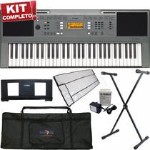 Kit Teclados Musicais Yamaha Iniciante Usb Sensibilidade