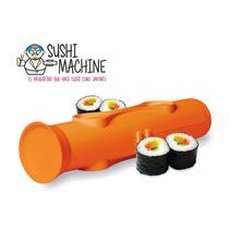 Kit Sushi Sushimachine +plato +palitos +cuchillo +espatula