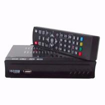 Conversor Set Top Box Receptor Tv Digital Gravador