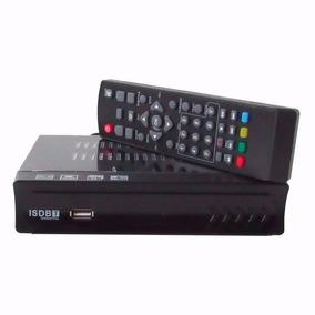 Kit 2 Conversor Set Top Box Receptor Tv Digital