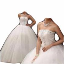 Vestido De Noiva Tipo Princesa Ou 15 Anos Pronta Entrega