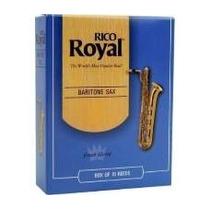 Palheta Para Sax Baritono Rico Royal 2,5 Unid Somos Loja