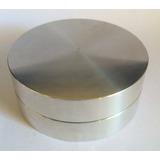 Base Giratória De Alumínio Para Tampo De Vidro