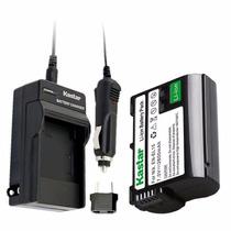 Cargador Y Bateria En-el15 Para Nikon D750 D7100 D7000 D800e