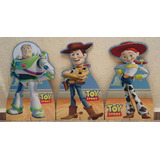 Kit Toy Story 3 Totem 80cm E 12 Display 22cm Completo Festa