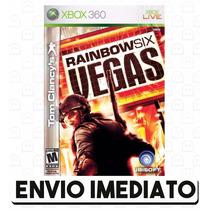 Tom Clancys Rainbow Six Vegas Xbox 360 Código 25 Dígitos