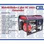 Generador/motosoldador 2.5kw Dc 200a