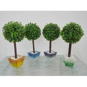Árbolito Topiario Artificial Decorativo Souvenir 15, Boda.