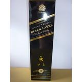 Antiguo Whisky Johnnie Walker Etiqueta Negra 1 Litro