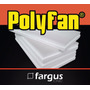 Placa De Polyfan (polifan) Esp. 50mm Ideal Letras / Aislante