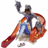 Pista Hot Wheels Nitrobot Ataca Mattel + 1 Carro