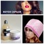 Kit Btox Crema + Shampoo + Gorro Electrico Ác Hialuronico.