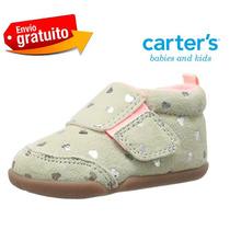 Zapato Carters Bebe Niña # 2us 9.5 Cm Originales 6-9 Meses