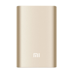 Batería Externa Xiaomi Original Power Bank 10000 Mah Dorado