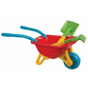 Big Carriola Magic Toys C/ Acessórios - Vermelho
