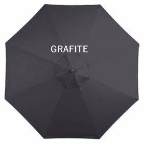 Ombrelone Lateral Quadrado Girat. Floreira Grefite 2x2 Sm-06