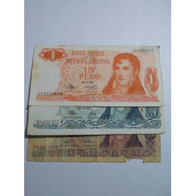 Billetes Serie A Banco Central De La Republica Argentina