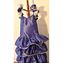 Hermoso Vestido Princesa Violeta De Fiesta!!