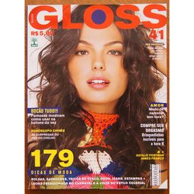 Gloss Nº 41 Isis Valverde Natalie Portman James Franco