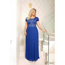 Vestido Para Festa E Casamento Azul