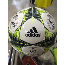 Mini Balon Adidas Ral Madrid Champions Leage Num1 Original
