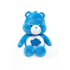 Linda Pelúcia Ursinhos Carinhosos Azul Zangadinho 20cms