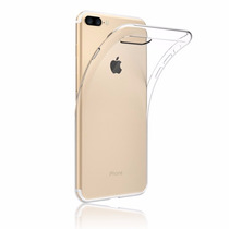 Capa Case Capinha Iphone 6 7 Apple Silicone Tpu Transparente