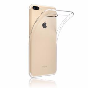 Capa Case Capinha Iphone 6 7 Apple Silicone Tpu Transparente