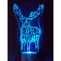 Luminária Automática De Tomada Harry Potter Expecto Patronun