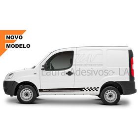 Adesivo Fiat Doblo Cargo Mod Fd2 Faixa Lateral Acessórios La