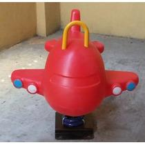 Juego Infantil Caballo O Avión De Resorte De Importación